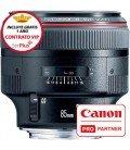 CANON EF 85mm f/1,2 L USM II + 1 ANNO GRATUITO SERPLUS CANON SERPLUS di manutenzione VIP