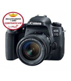 CANON 77D STARTER KIT + GRATUIT 1 AN VIP SERPLUS MAINTENANCE CANON