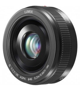 PANASONIC 20MM LUMIX G F1.7 II ASPH BLACK