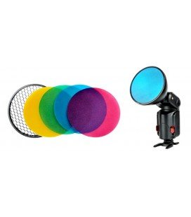 GODOX AD-S11 COLOR FILTER KIT WITH GRID FOR AD360II, AD360 and AD180