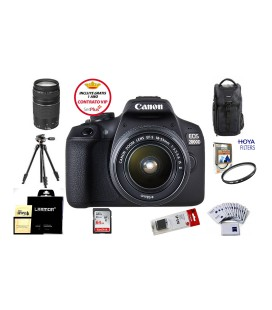 CANON EOS 2000D + 18-55 IS II PACK AVANZADO