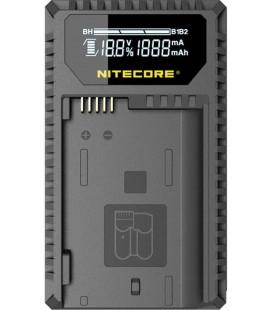 NITECORE UNK1 CARGADOR NIKON EN-EL14/A4A/15 DUAL(2BATERIAS 1 USB)