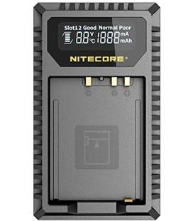 CHARGEUR NITECORE FX1 FUJIFILM NP-W126 DUAL (2 BATTERIES 1 USB)