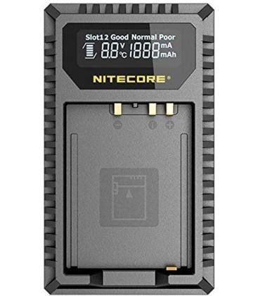 NITECORE FX1 CARGADOR FUJIFILM NP-FW126 DUAL (2 BATERIAS 1 USB)
