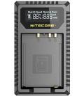 CARICABATTERIE NITECORE FX1 FUJIFILM NP-W126 DUAL (2 BATTERIE 1 USB)