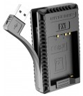 NITECORE FX1 CARGADOR FUJIFILM NP-W126 DUAL (2 BATERIAS 1 USB)