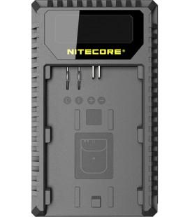 NITECORE UNC1 CARGADOR CANON LP-E6/6N/LP-E8 DUAL (2 BATERIAS 1 USB)