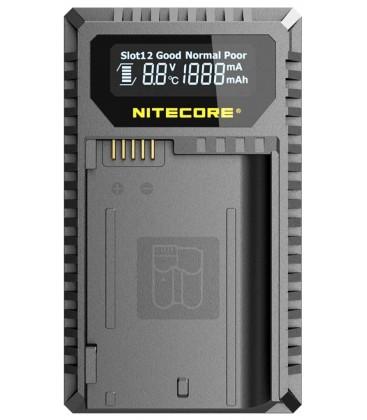 NITECORE UNK2 CARGADOR EN-EL15 DUAL(2BATERIAS) 1 USB
