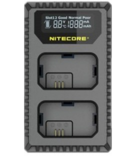 CHARGEUR NITECORE USN4 PRO SONY NP-FZ100 DUAL (2 BATTERIES 1 USB)