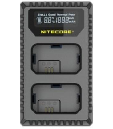 NITECORE USN4 PRO CARGADOR SONY NP-FZ100 DUAL (2 BATERIAS 1 USB)