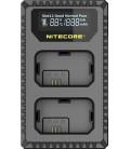 CHARGEUR NITECORE USN1 SONY NP-FW50 DUAL (2 BATTERIES 1 USB)
