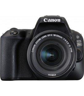 CANON EOS 200D NERO + 18-55 È STM PACK BASIC + 1 ANNO DI MANUTENZIONE VIP SERPLUS CANON VIP SERPLUS