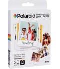 "POLAROID ZINK 3.5 X 4.25"" (20 FEUILLES)"