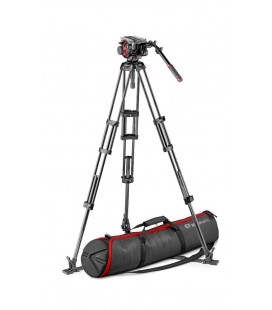 MANFROTTO TWIN GS Tripod VIDEO + Patella 504