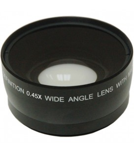 WIDE ANGLE DIGITAL 0.45X. Available in 55mm