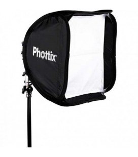 PHOTTIX SOFTBOX 40X40 WITH SUPPORT KIT