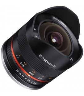 SAMYANG 8mm F 2,8 WBU FISH-EYE II CANON EF-M Monte