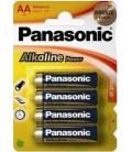 PANASONIC LR6 AA alkalin pil 4 Pack