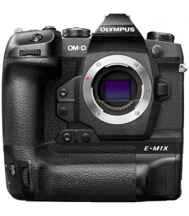 OLYMPUS ome E-MX1 prereserve body with integrated handle grip