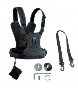 COTTON CARRIER HARNESS G3 CCS 686 FOR 1 CAMERA - GRAY