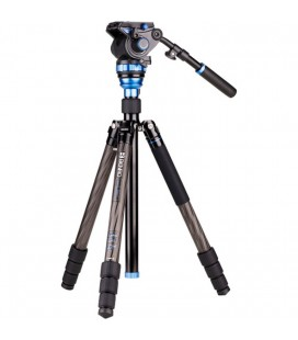BENRO TRAVEL VIDEO AERO 7 TWIST + S7 Carbon Tripod