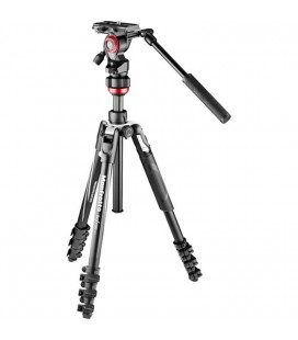 MANFROTTO BEFREE LIVE Aluminum VIDEO Stativ mit Schloss