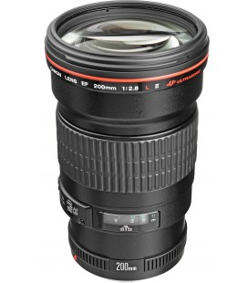 CANON EF 200mm f/2.8L II USM + FREE 1 YEAR VIP MAINTENANCE SERPLUS CANON