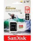 SANDISK EXTREME  SDXC 128 GB 160 MB/s A2 C10 V30 UHS-I U3
