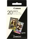 CANON ZINK PAPEL FOTOGRAFICO ZP2030  20 HOJAS