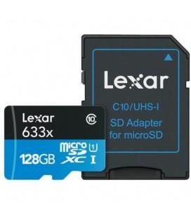 LEXAR MICRO SDXC 128GB 95 M / S + ADAPTATEUR SD