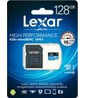 LEXAR MICRO SDXC 128GB 95MB / S + ADAPTADOR SD