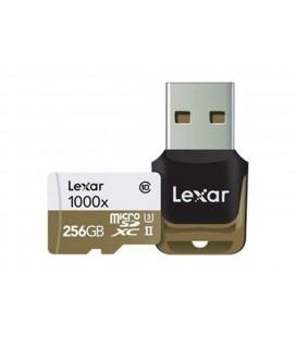 LEXAR MICRO SDXC 256 GB 150M/S + LECTOR USB 3.0