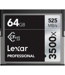 SCHEDA COMPATTA FLASH CFAST 64GB 525M / S LEXAR