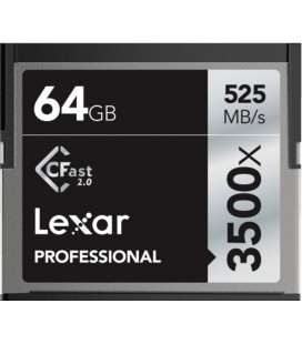 CARTE LEXAR COMPACT FLASH CFAST 64GB 525M / S