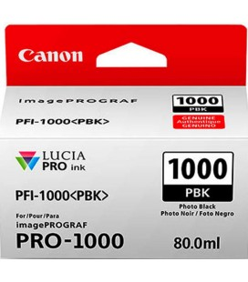 CANON INK PFI-1000 PBK NERO 80ML