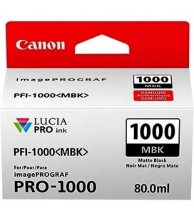 CANON INK PFI-1000 MBK NERO MATE 80ML