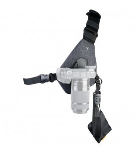 COTTON CARRIER HARNESS SKOUT FOR 1 CAMERA 410 GRAY