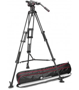 MANFROTTO TRIPODE KIT DE VIDEO 546B + ROTULE N8 NITROTECH