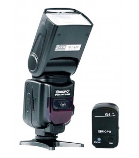 TRIOPO FLASH TR950 II WITH EMITTER G4 - CANON-NIKON-FUJI