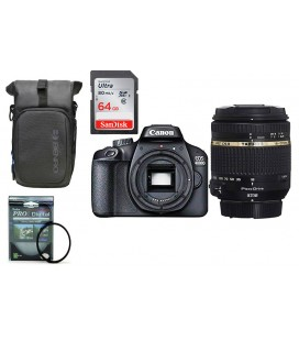 CANON EOS 4000D KIT AHORRO SUPER ZOOM