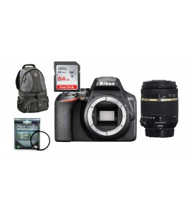 NIKON D3500 PACK SUPER ZOOM DE AHORRO