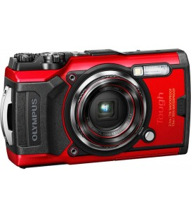 OLYMPUS TOUGH TG-6 ROUGE