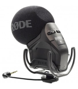 RODE STEREO VIDEOMIC PRO RYCOTE LYRE MICROFONE