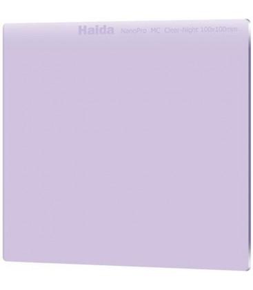 HAIDA FILTER NIGHT 100 X 100 NANOPRO CLEAR NIGHT