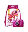 NIKON CAMERA W100 PINK KIT WITH BACKPACK