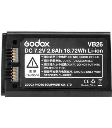 GODOX BATERIA VB26 PARA FLASH V1