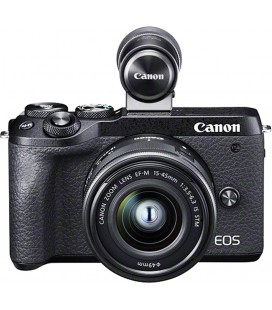 CANON EOS M6 MKII + EF-M 1: 3,5-6,3 / 15-45 mm IS STM + ELECTRONIC VIEWER EVF-DC2