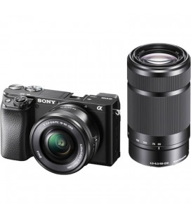 SONY ALPHA 6100 BODY + SEL 16-50 MM AE + 55-210 MM (ILCE6100YB.CEC)