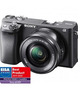 SONY ALPHA ILCE 6400+16-50mm f/3.5-5.6 PZ OSS-NEGRO