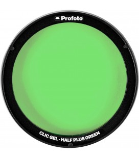 PROFOTO CLIC GEL HALF PLUS GREEN REF 101020